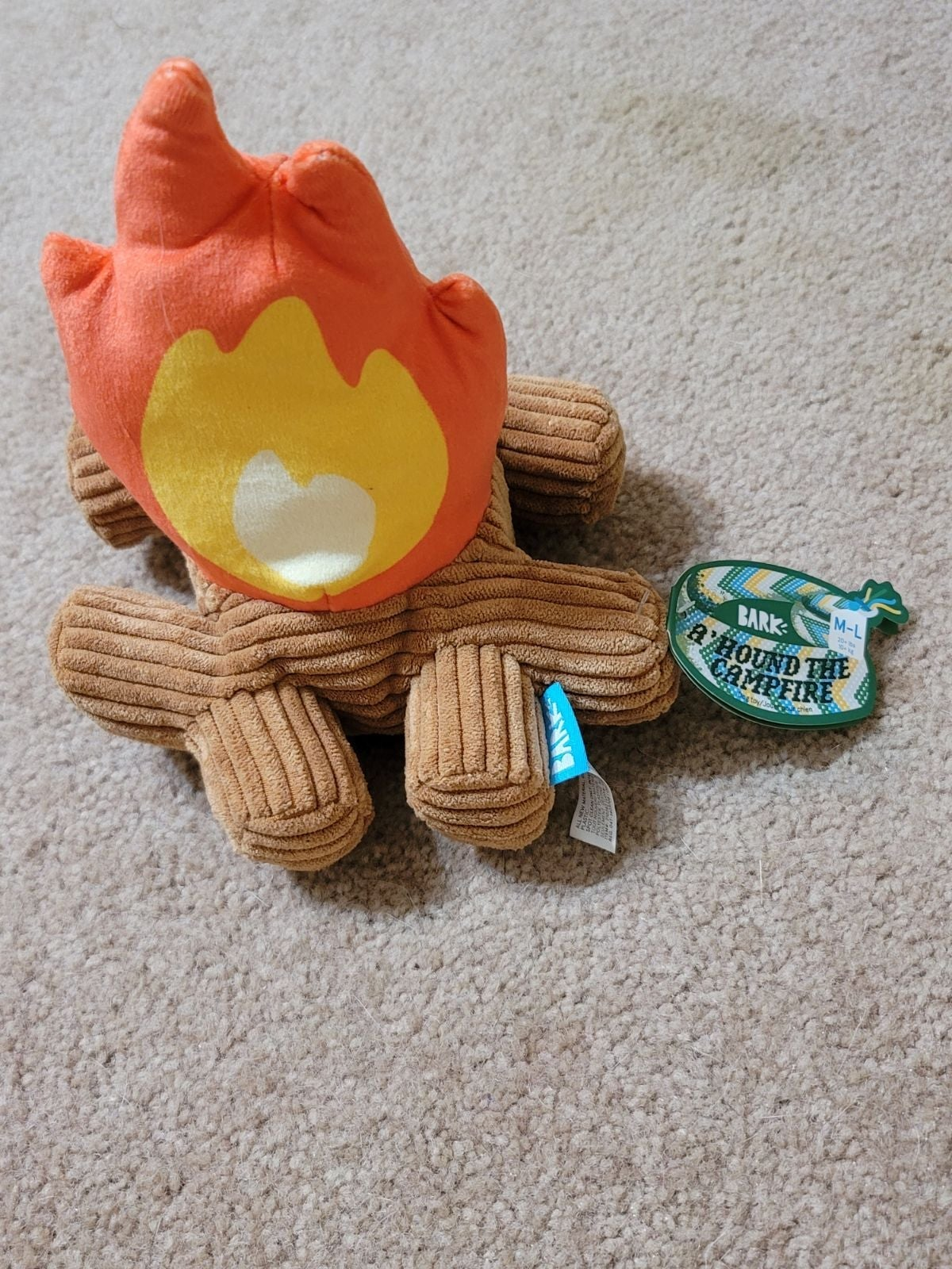 Barkbox plush  A' hound the campfire