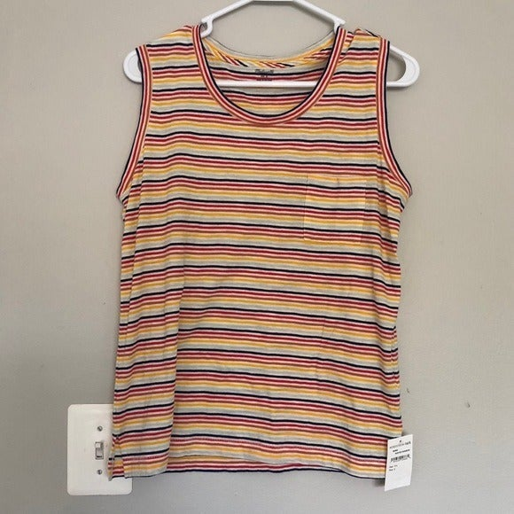 NEW* Madewell Colorful Striped Tank Top