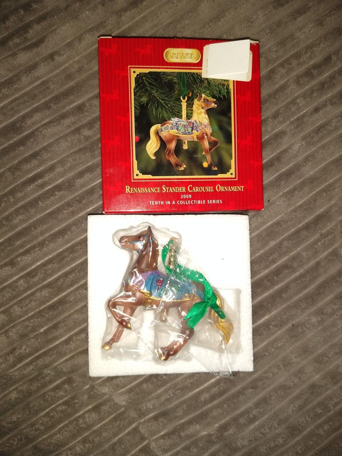2009 Breyer Carousel Horse Ornament