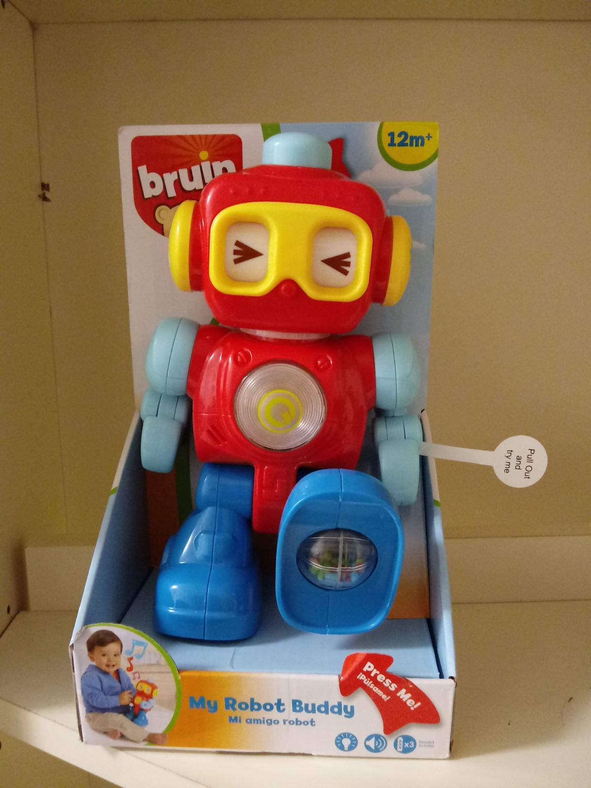 Burin my toy robot - toy - kids - play -