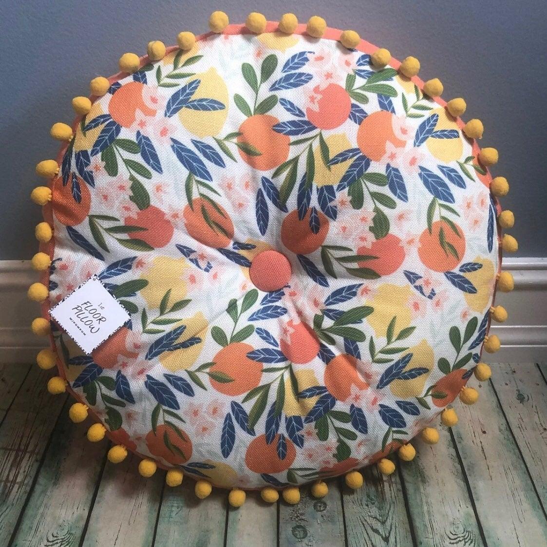 Target BP Citrus Print Pillow