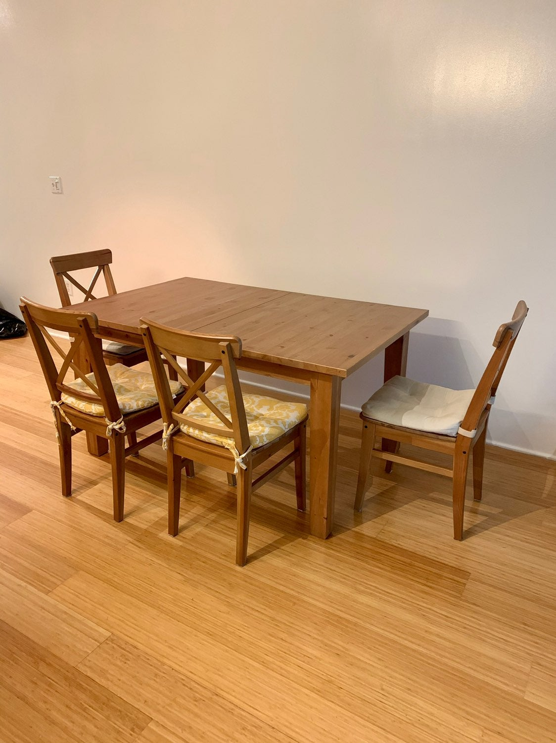 Expandable Dining Table Set + Chairs