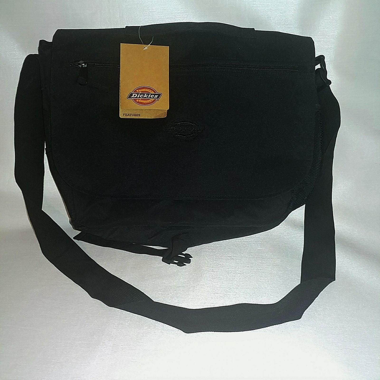 Dickies Messenger Bag, Black, One Size