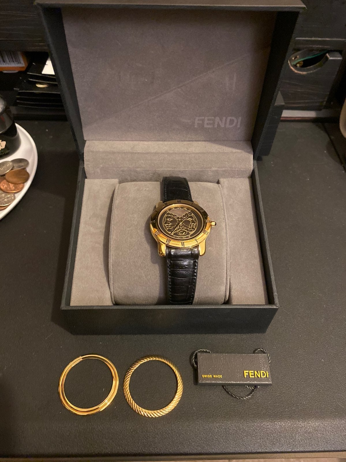 Authentic Fendi Swiss made watch