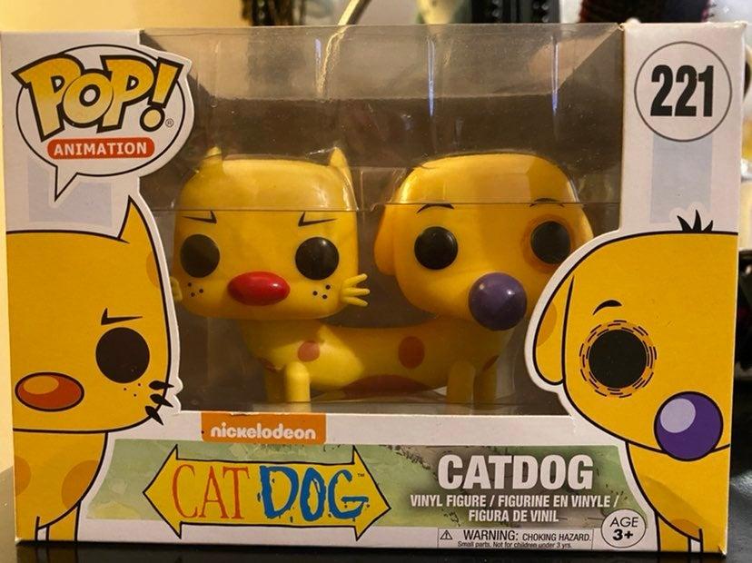 Funko Pop Cat Dog