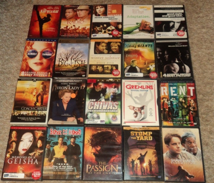 LOT OF 20 - DRAMA / THRILLER & MORE DVDS