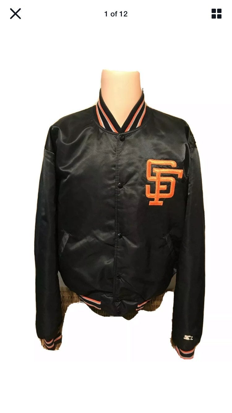 Vintage STARTER 80's SF Giants Jacket