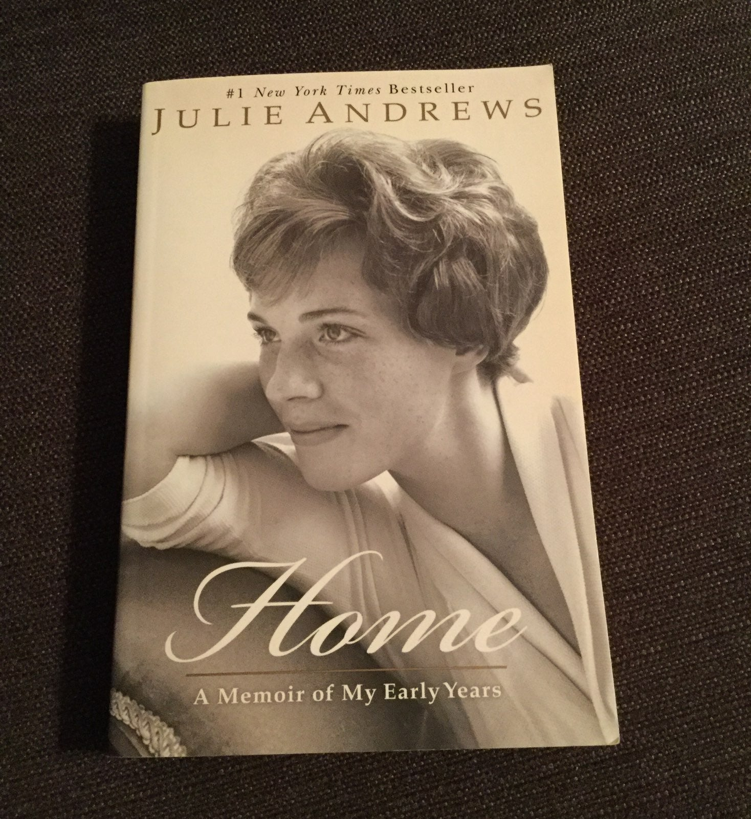 """HOME"" BY JULIE ANDREWS ~ AUTOBIOGRAPHY"