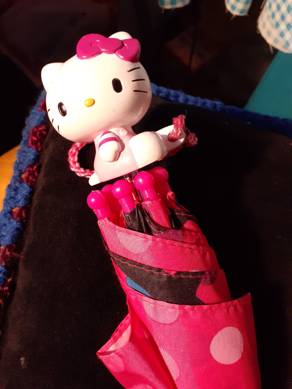 A Childs Hello Kitty Umbrella