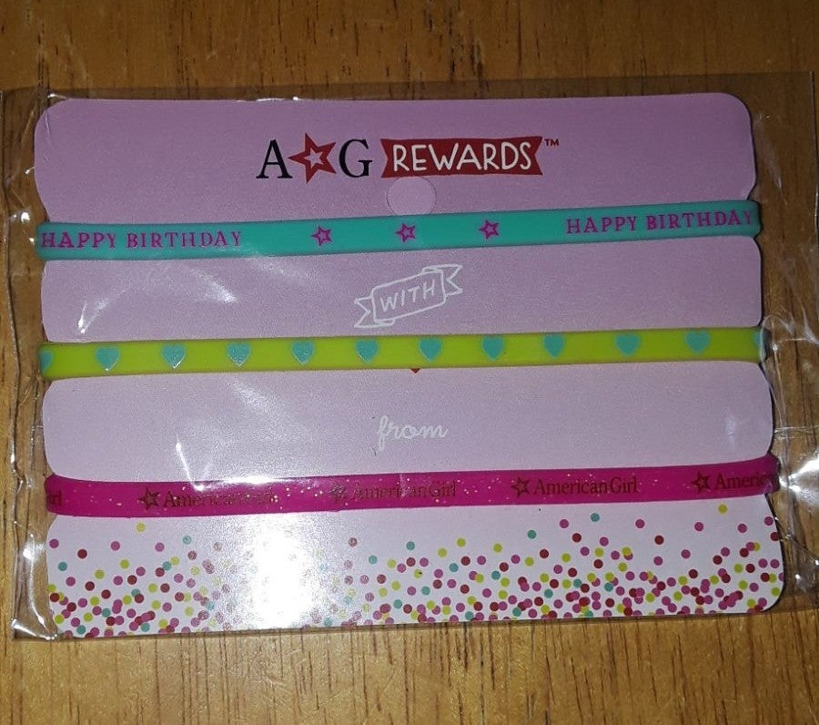 Birthday girl size bracelet