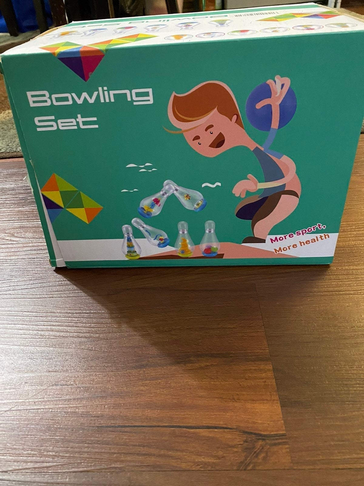 Bowling set for todller