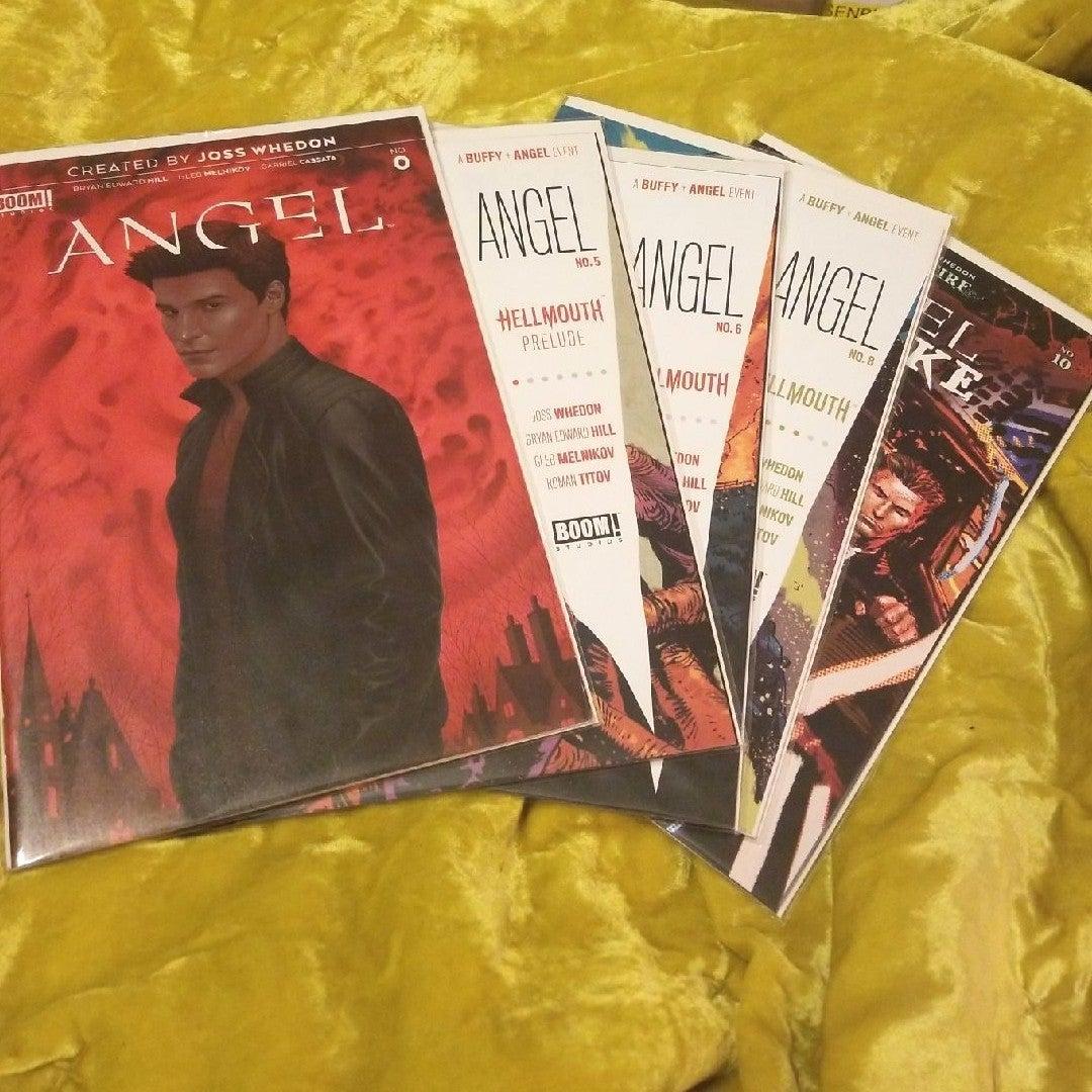 BOOM! Comics Angel lot 0,5,6,8,10