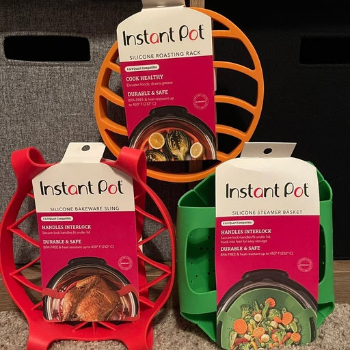 New Instant Pot Silicone Accessories Lot