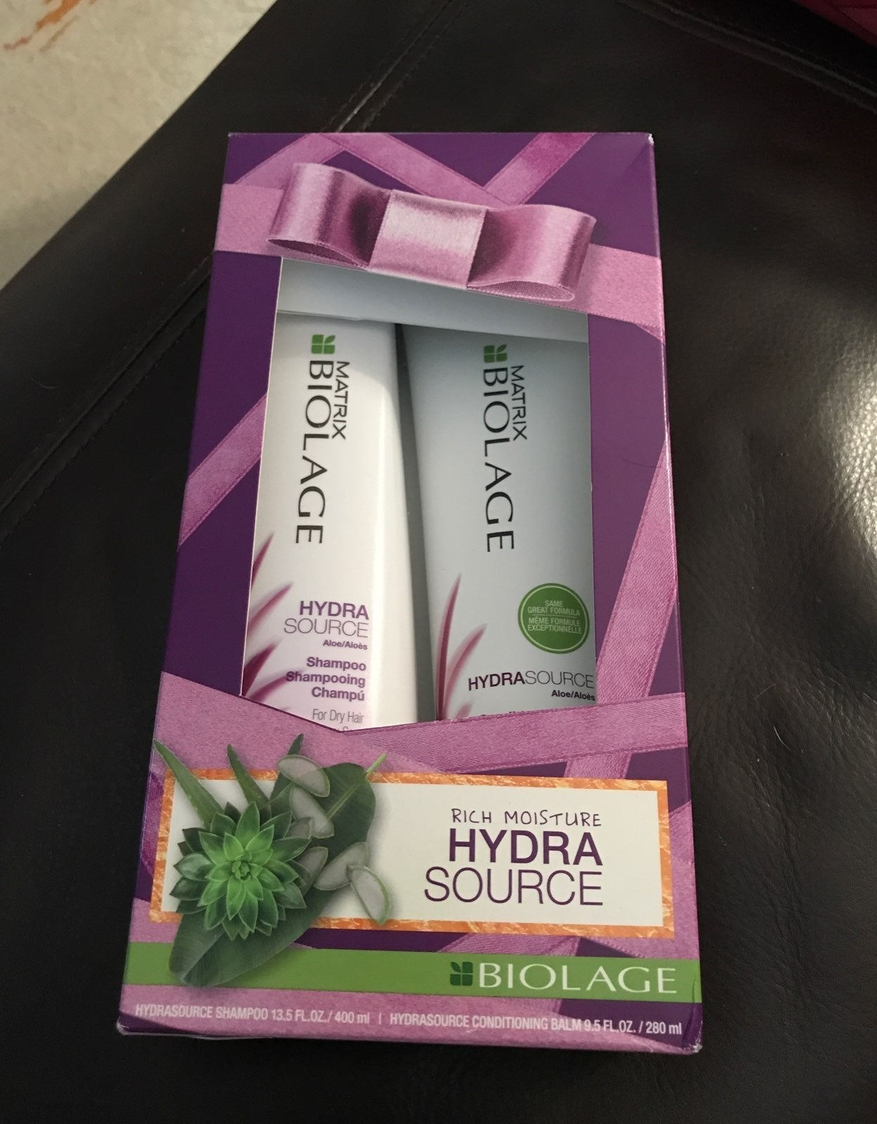 Biolage shampoo and conditioner set