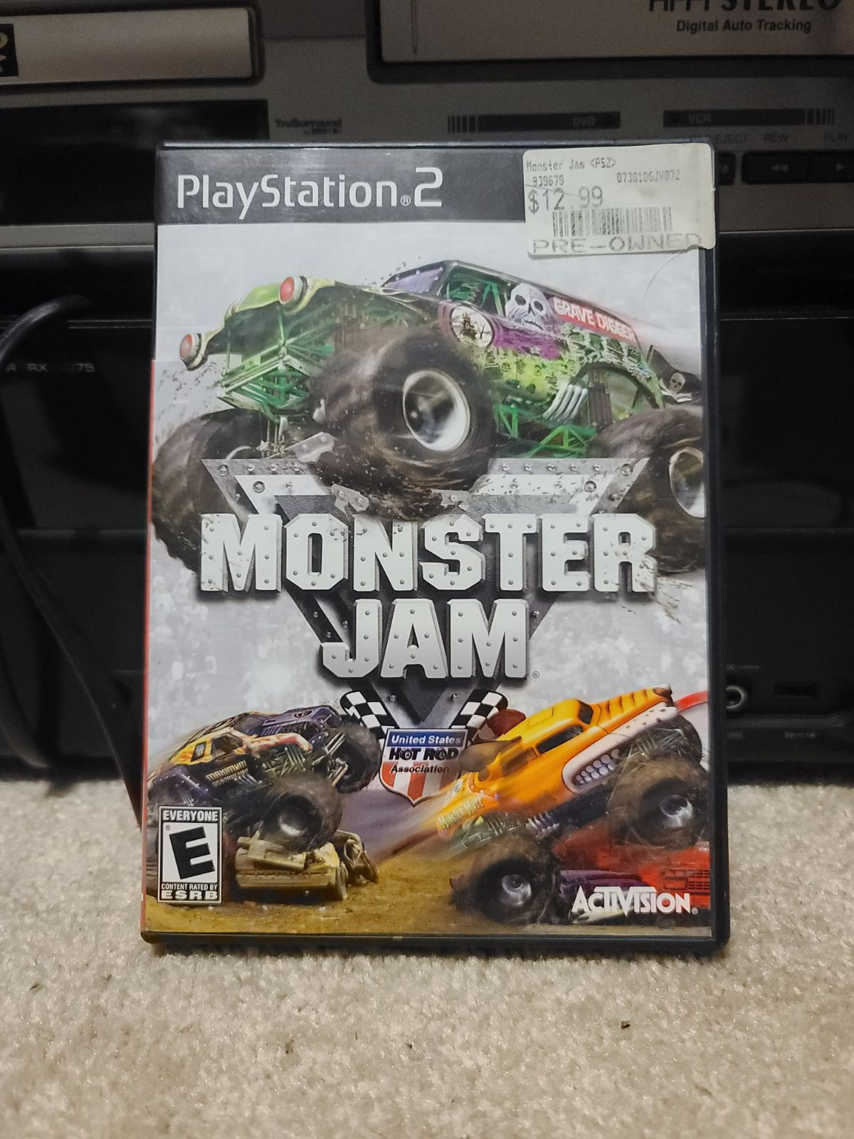 Monster Jam ps2 CIB tested