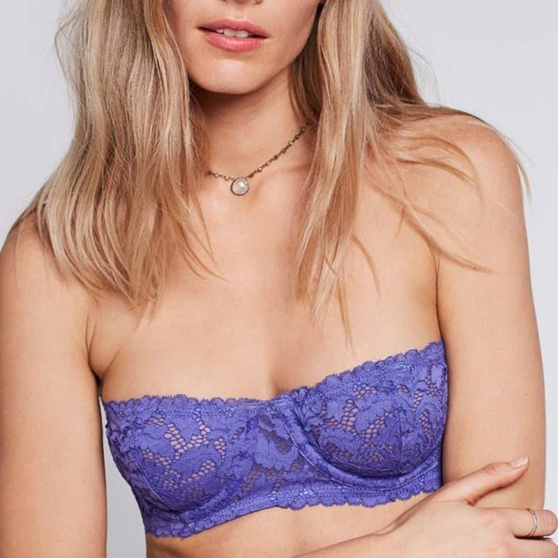 Free People Love Letters Strapless Bra