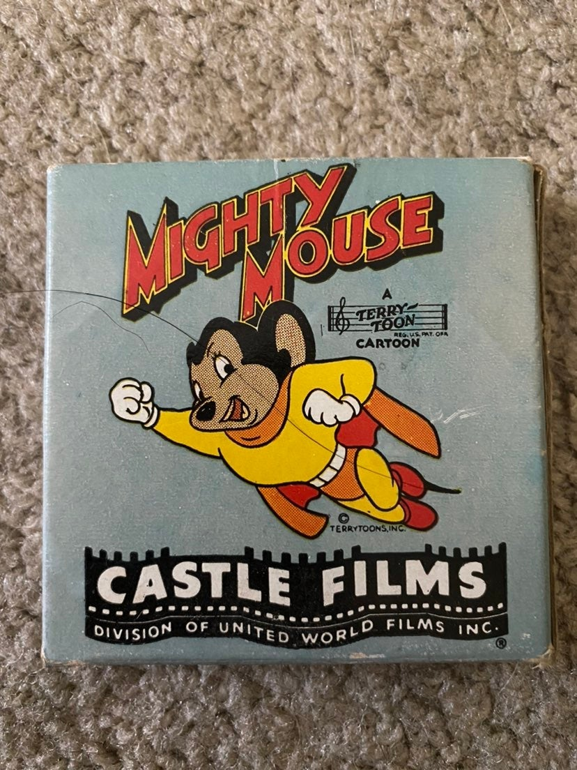 Vintage Mighty Mouse 8MM Movie