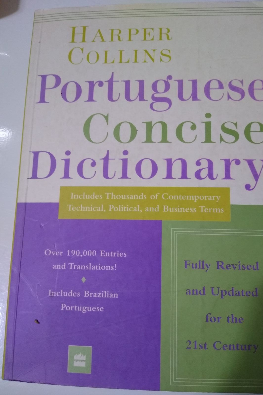 Portuguese concise dictionary incluses B