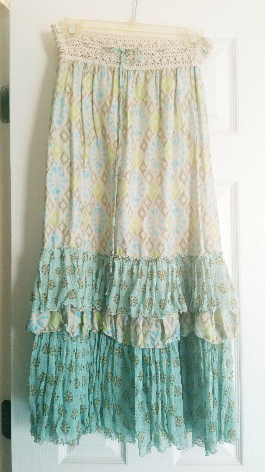 Free People Silk Floral Tube Dress