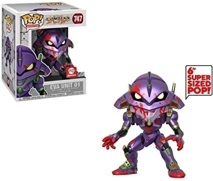 Funko Pop Six Inch Bloody Eva Unit 01