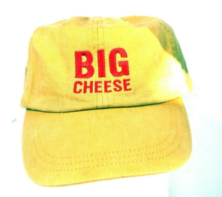 BIG CHEESE Hat - Yellow, Adjustable