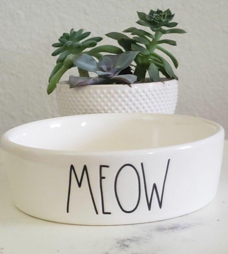 Rae Dunn Ceramic Pet Bowl