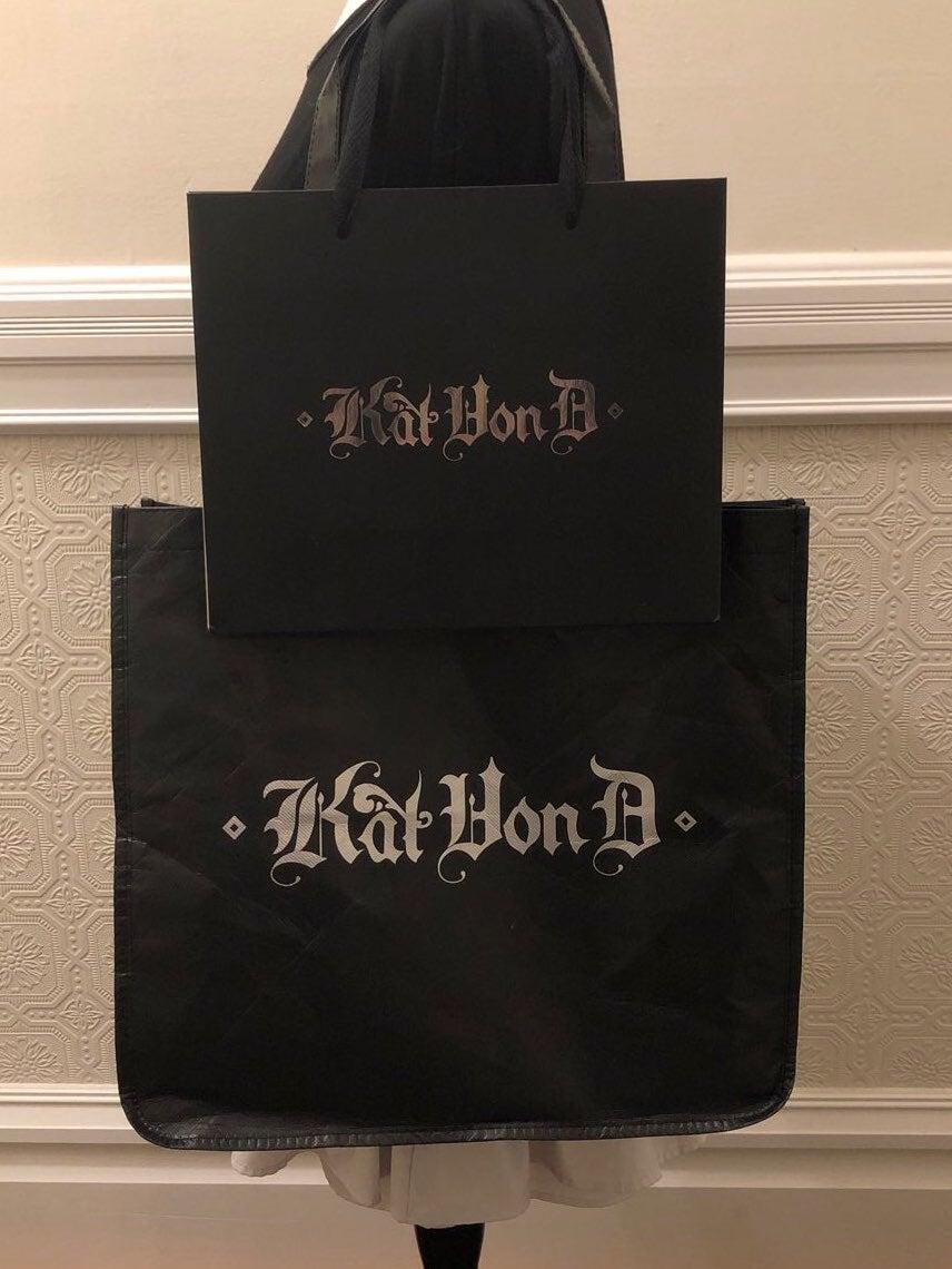 Kat Von D Small Bag+Studded Kiss Tote