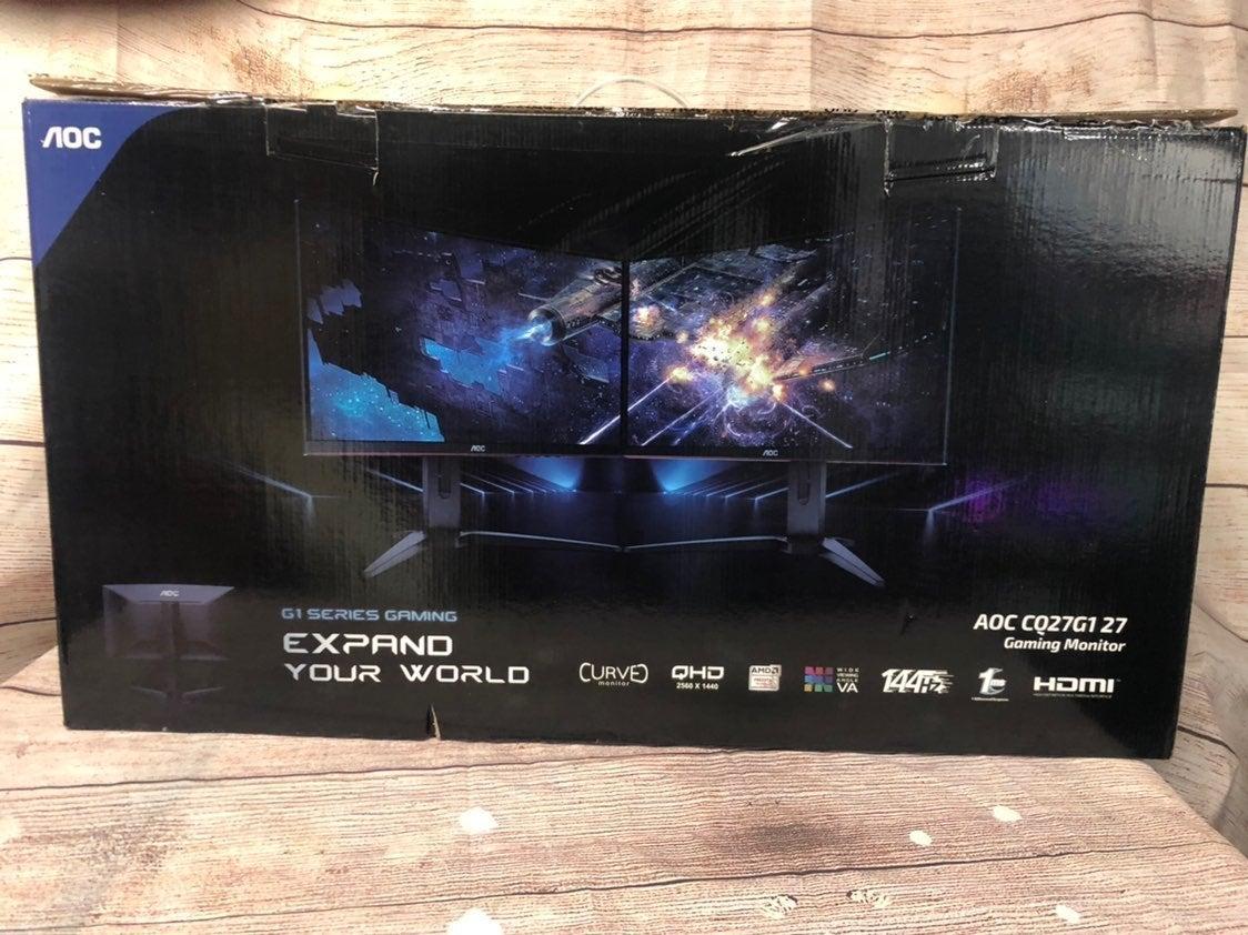 2 AOC 27 inch monitor CG27G1 1440p 144 h