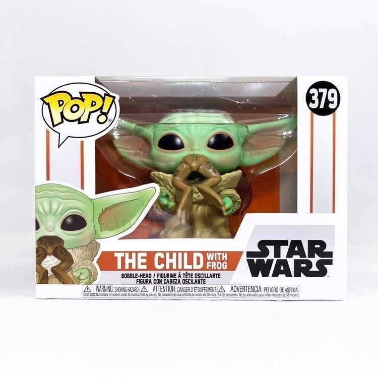 Funko Pop The Child W Frog(Baby Yoda)378