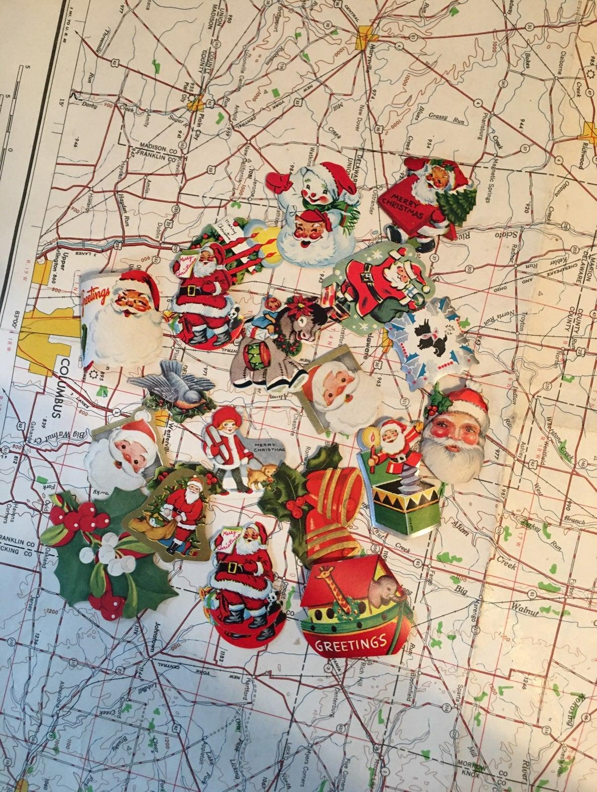 Vintage Christmas Seals Lot (lot4)
