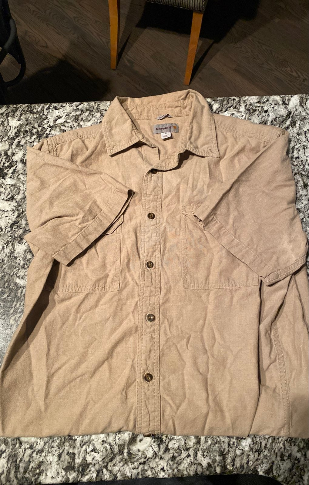 Carhartt Relaxed Fit short sleeve button