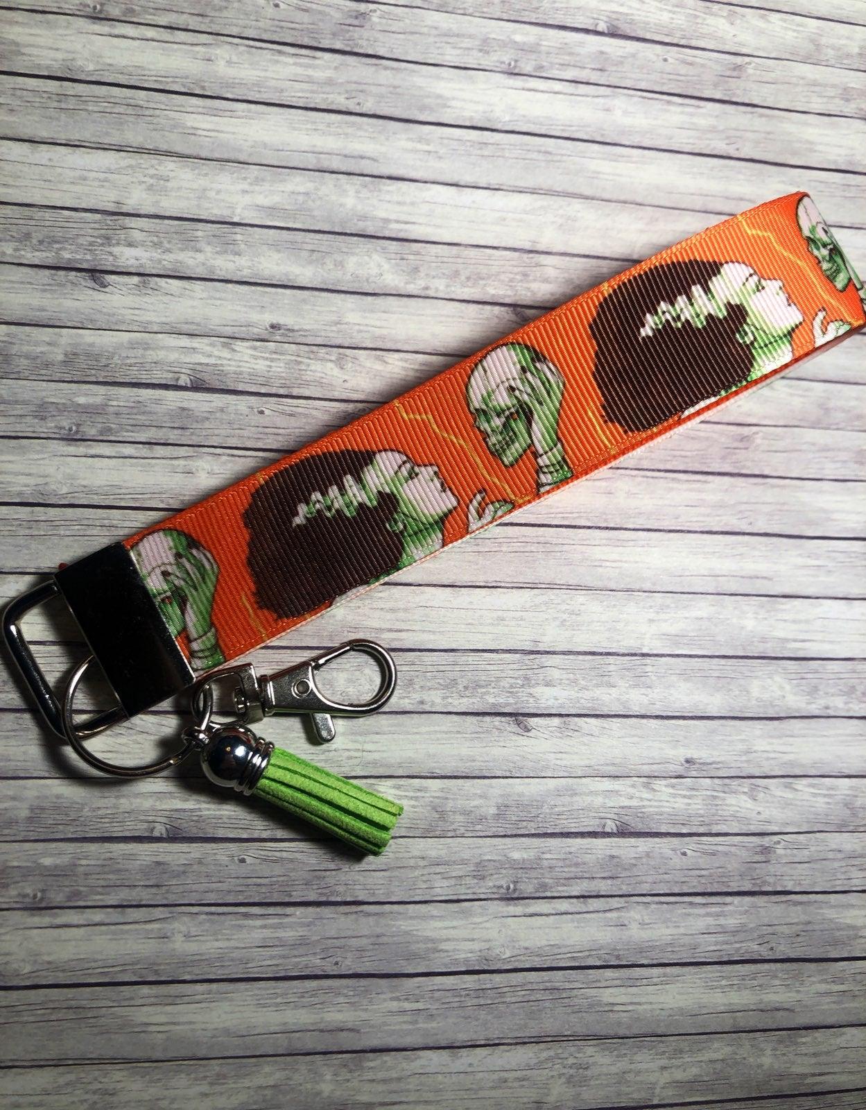 Mrs Frankenstein Key Ring Fob Keychain