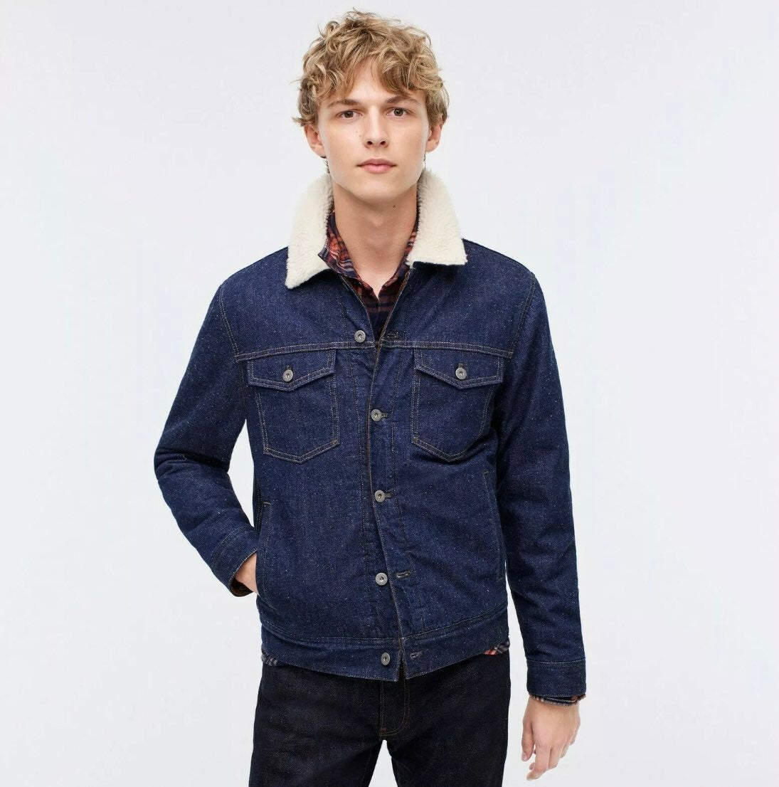 J. Crew Wallace & Barnes Denim Jacket