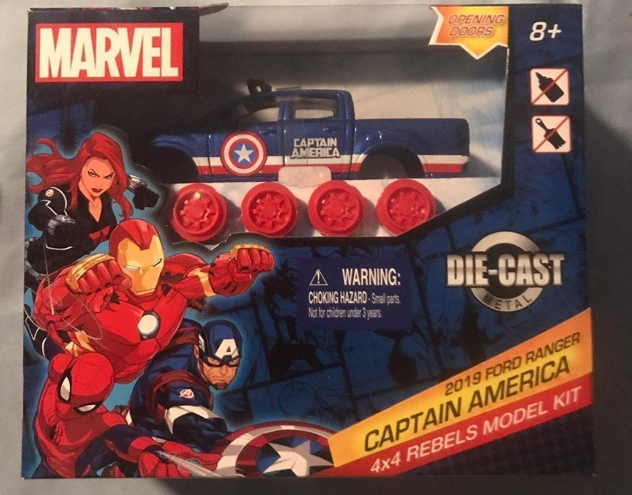Marvel Captain America 2019 Ford Ranger