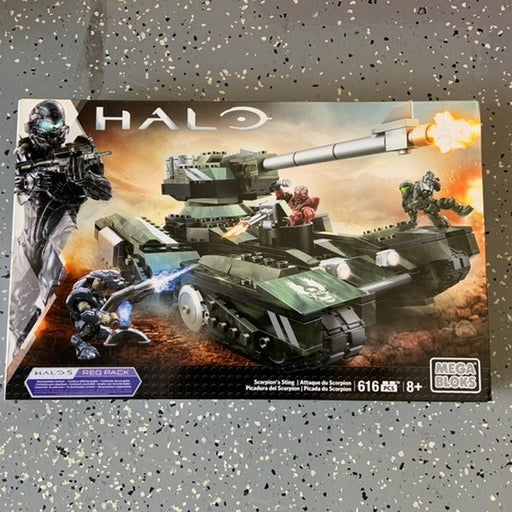 Halo Mega Bloks Scorpion's Sting set Req Pack