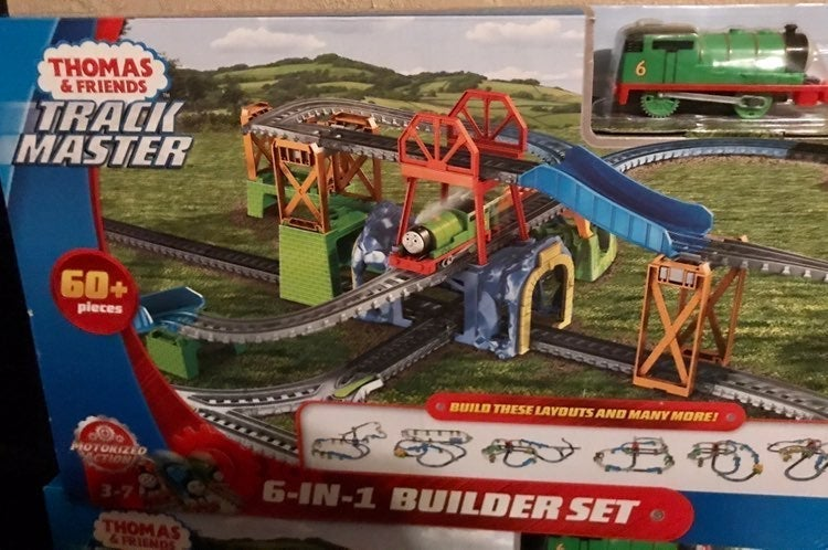 thomas and friends 6 in 1 builder set