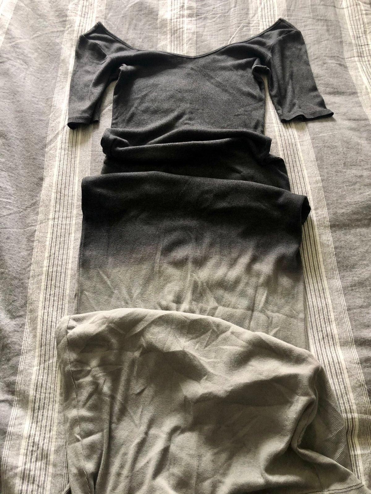 Bar III Ombre Maxi Dress