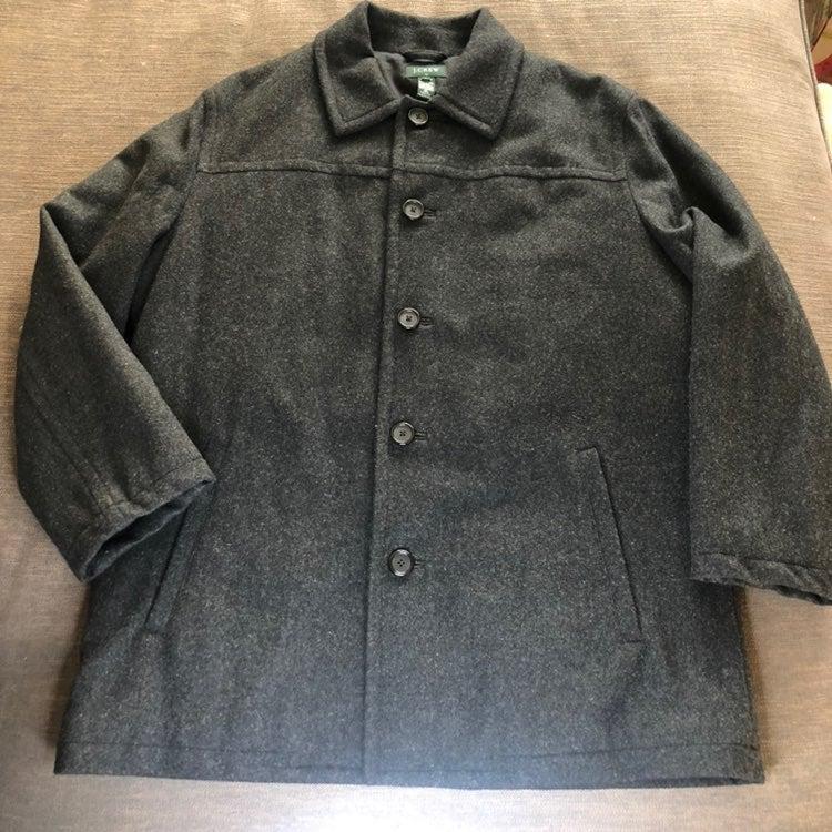 J. Crew Men's Peacoat Jacket