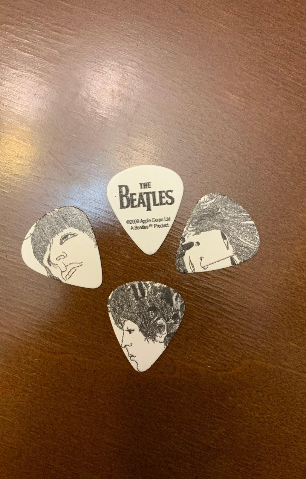 The Beatles Guitar picks