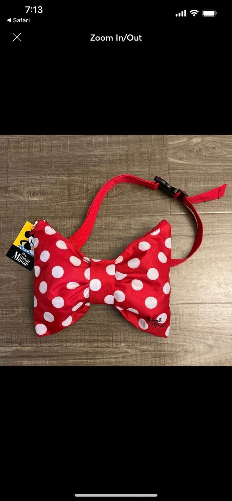 Disney Minnie Mouse waist bag Fanny pack
