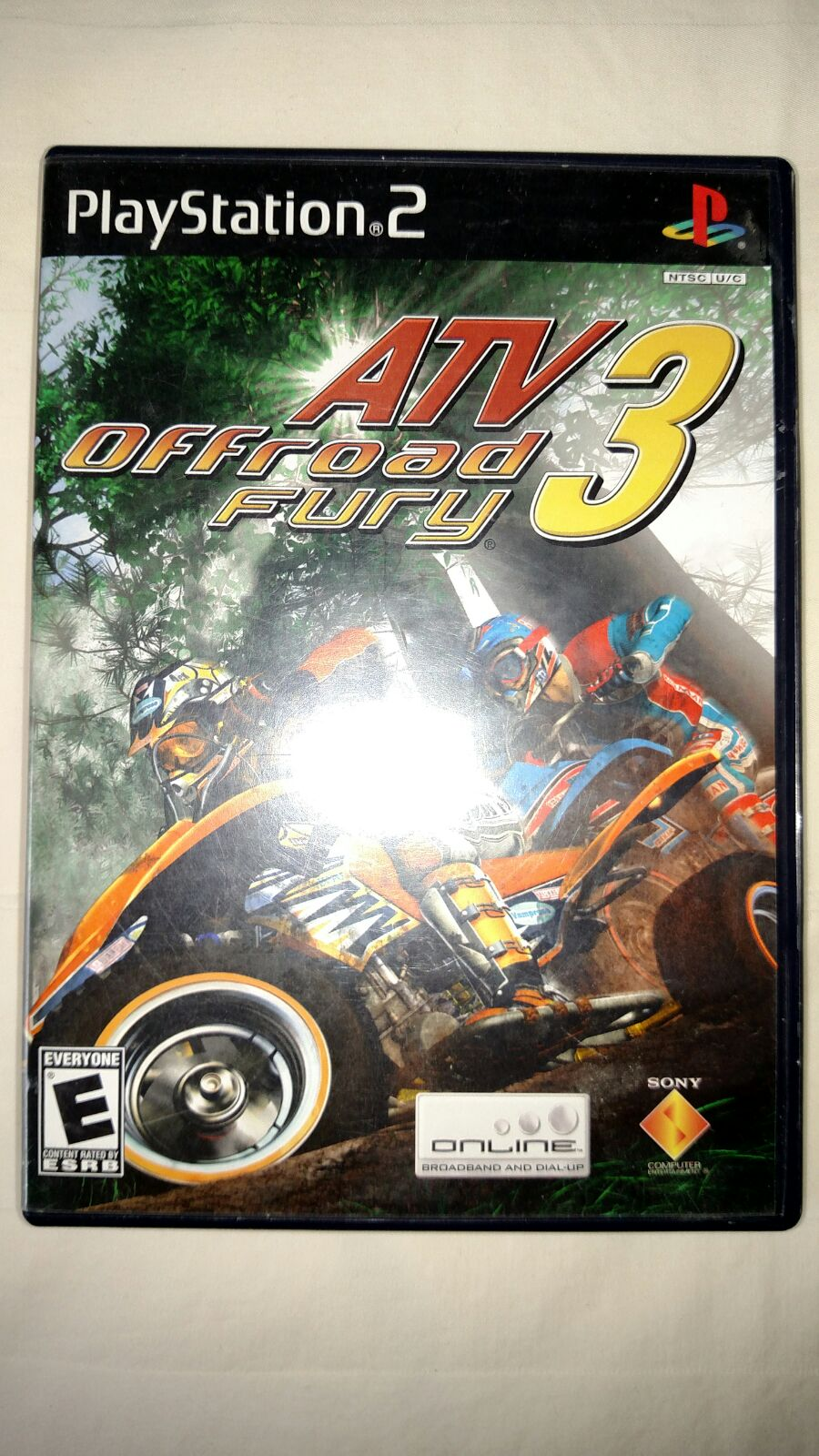 ps2 game disc ATV Off-road Fury 3