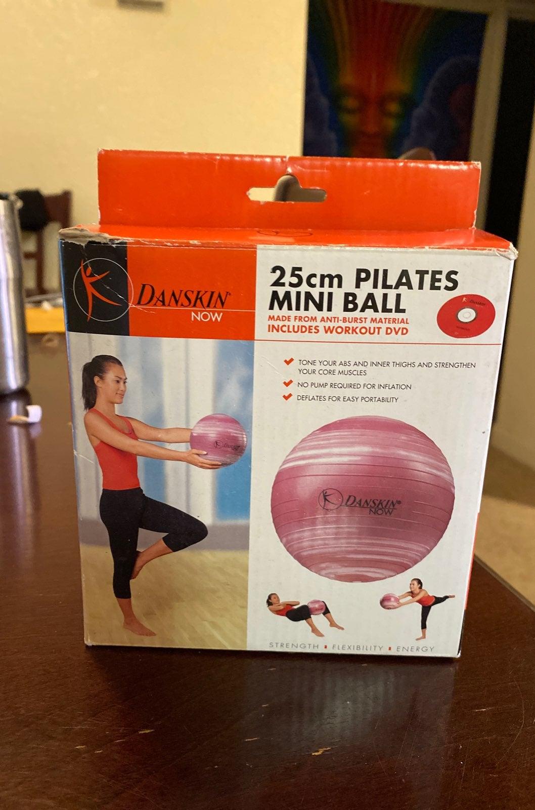 25cm Pilates Mini Ball (Plus Workout DVD