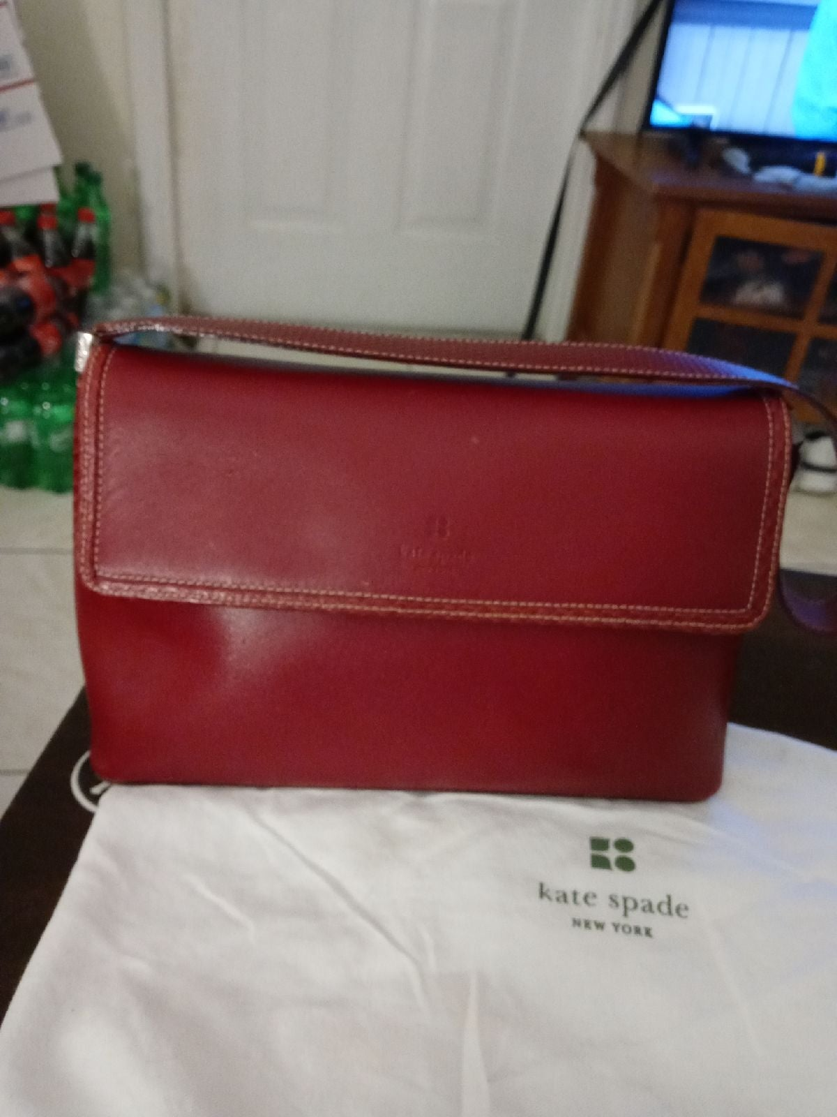 Kate Spade New York Red Leather Shoulder
