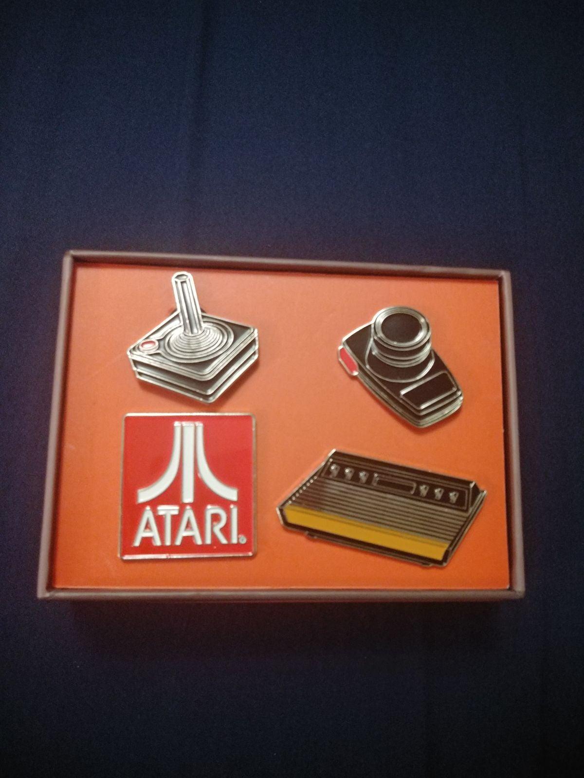 Atari Enamel Pins