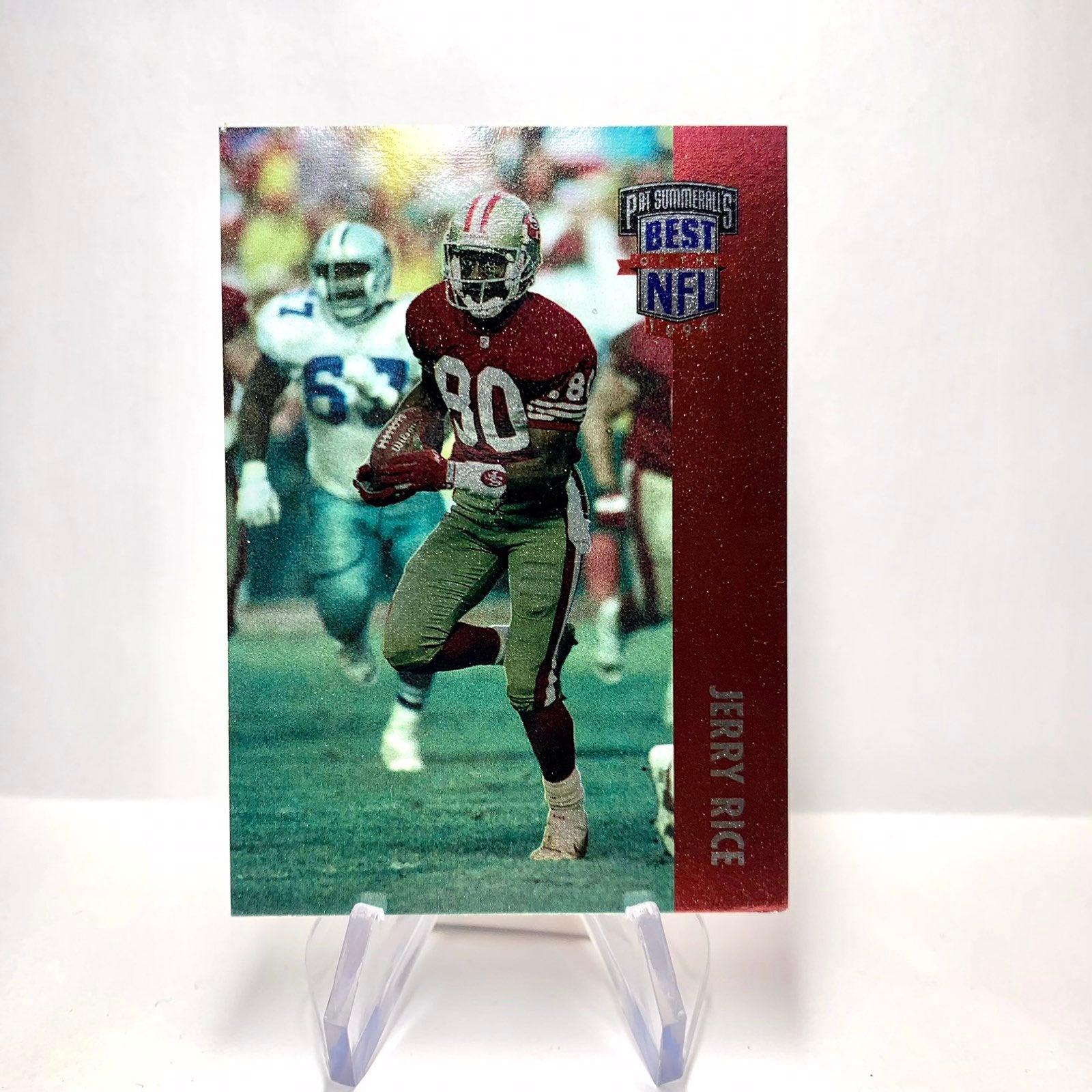 Jerry Rice 1994 Tekchrome Card NFL