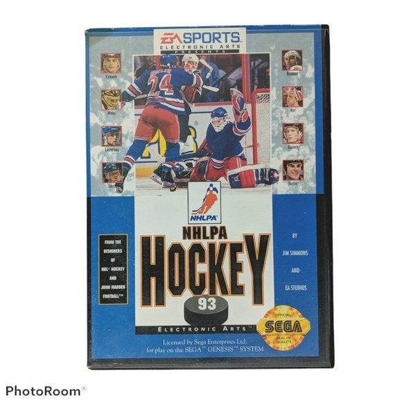 NHLPA Hockey 93 (Sega Genesis, 1992)