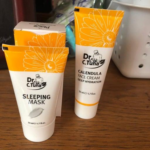 Dr. Tuna Sleeping Mask & Calendula Cream