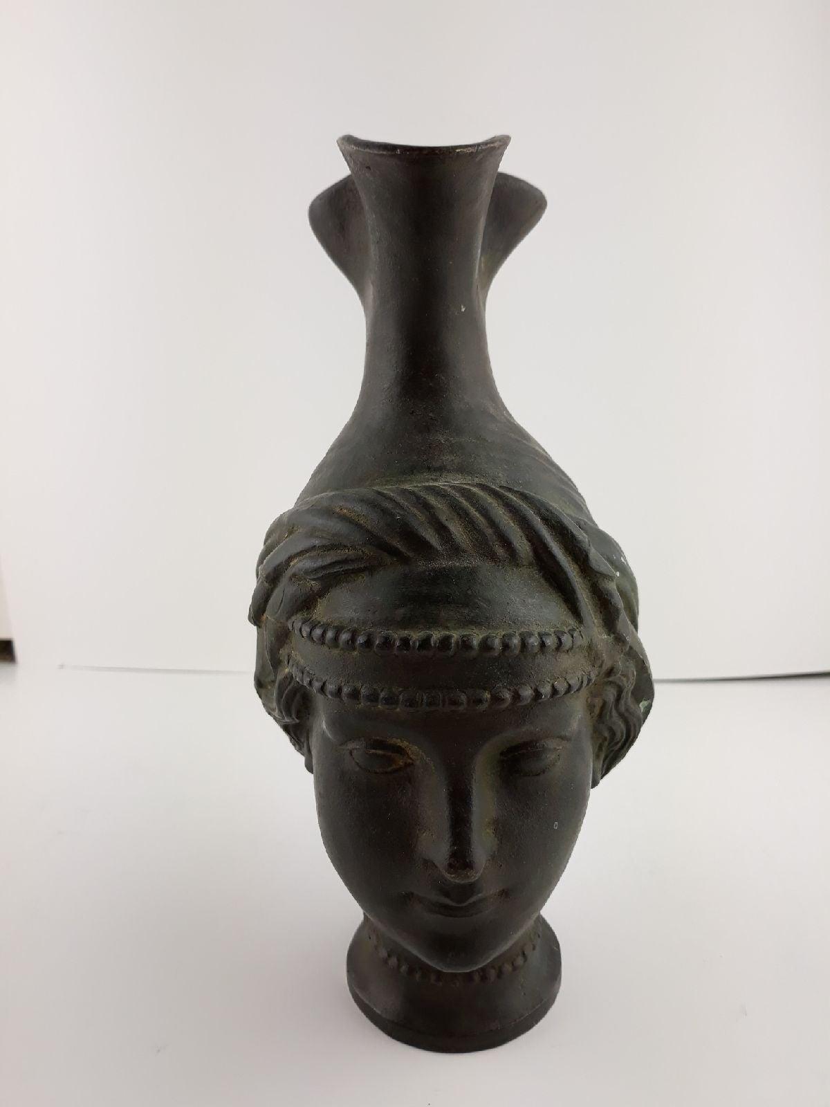 Figural Jug Brass/Bronze