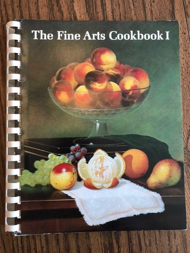 The Fine Arts Cookbook I