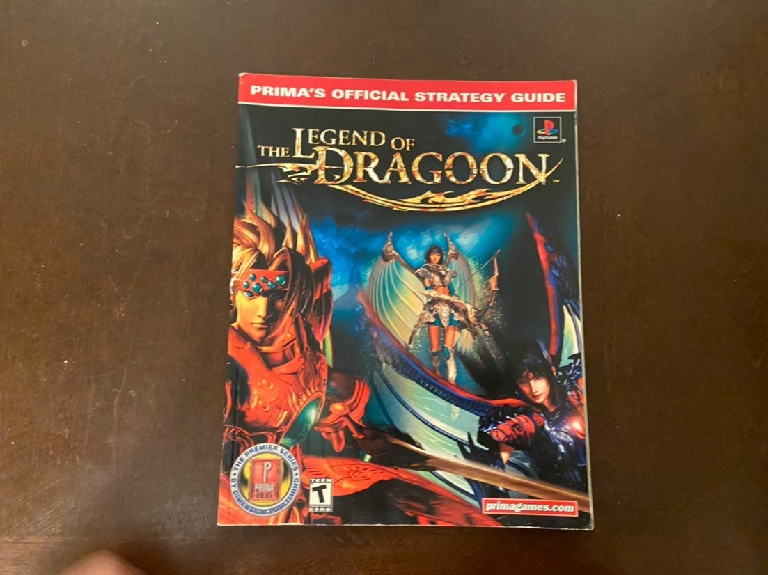 The Legend Of Dragoon Strategy Guide